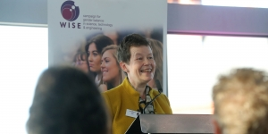 Helen Wollaston, WISE CEO