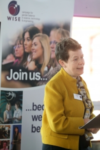 Helen Wolaston at WISE STEMWales event