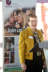 Helen Wollaston at WISE STEMWales event